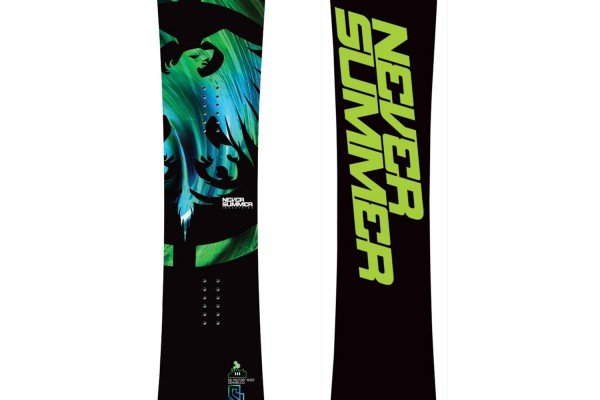 Never Summer Evo Snowboard 2011-2012 Season