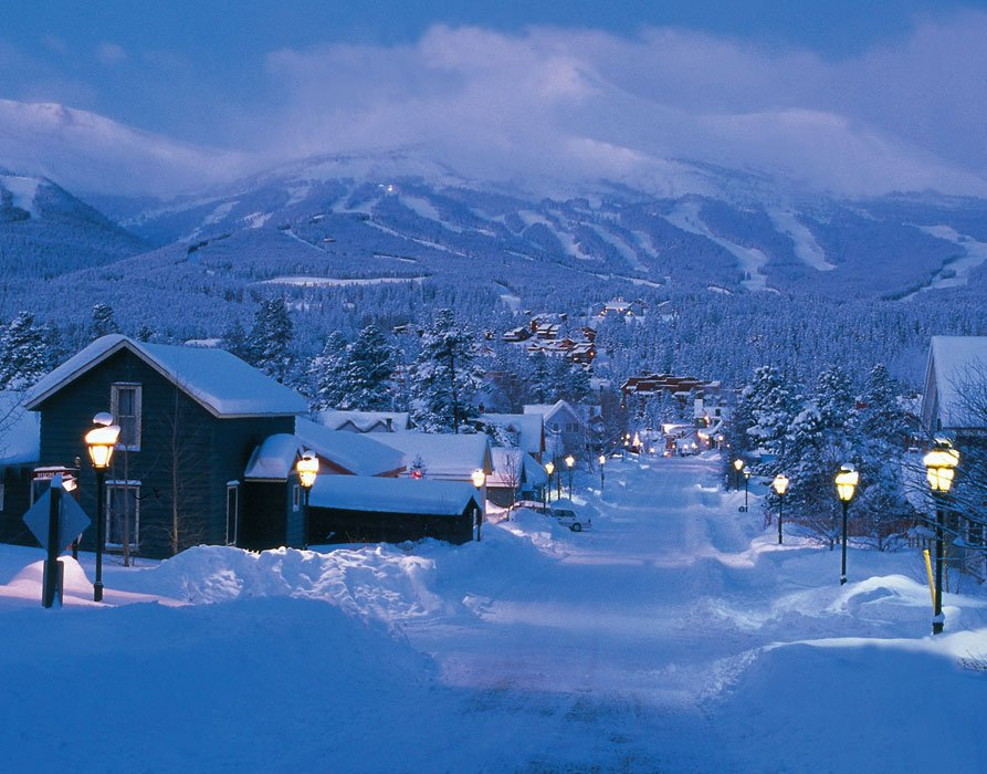 Breckenridge-Snow-Town