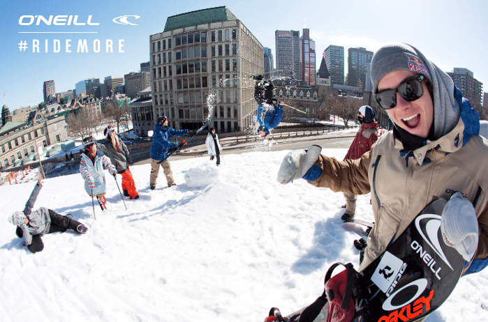#RIDEMORE with O'Neill
